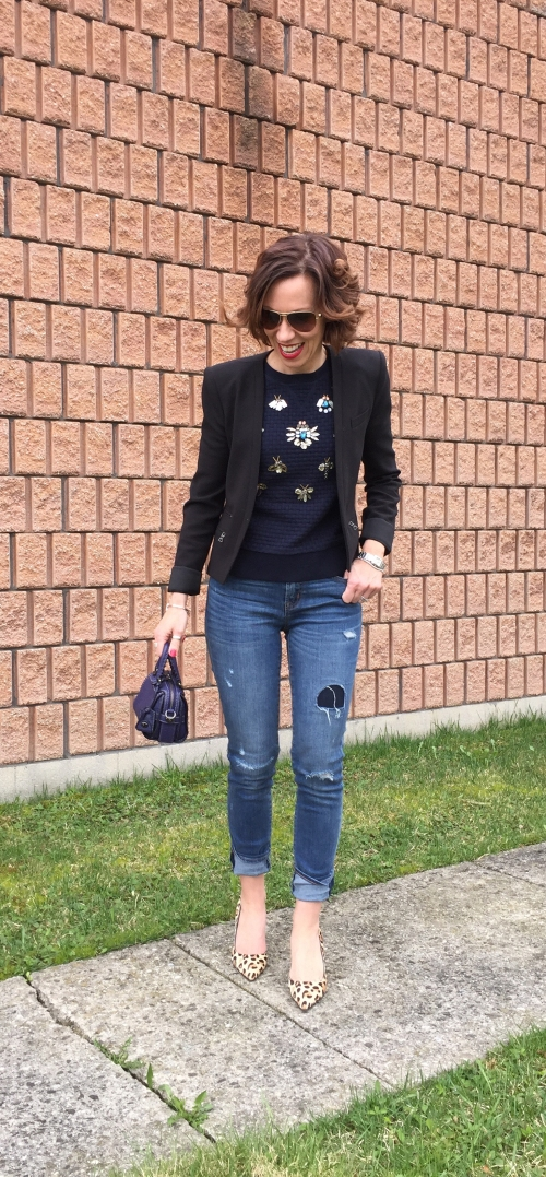 fashion-blazer-distressed-denim-caoch-mini-tote
