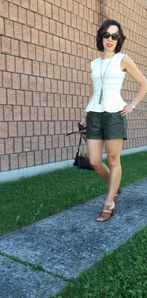 amydressed-banana-republic-leather-shorts